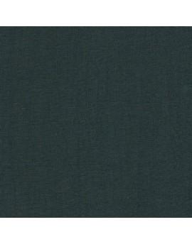 Linen precut fabric - green cypress