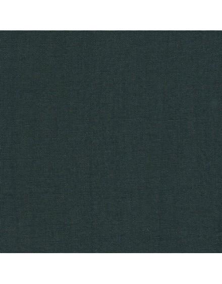 Retal de lino - verde ciprés