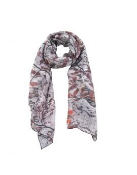 Foulard en soie Feuilles d'automne