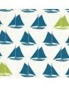 8 coupons tissu bio enfant Set Sail de Birch Fabrics