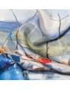 Foulard tour de cou en soie - Pier Buyle Rayon de soleil