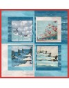 "Florida printed pannel 150x150 cm - 59x59"""