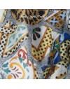 Seda estampada personalizada por metro - Raso de seda