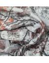 Seda estampada personalizada por metro - Gasa de seda