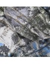 Tissu de soie imprimé personnalisé au mètre - Twill de soie